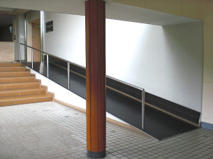 Picture of the ramps