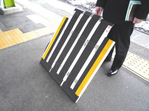 Temporary ramp