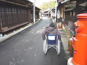 Near Asahian in the Machinami area