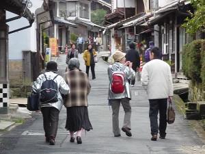 Ōmori area's old town
