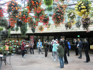 Picture of a flower corridor in Vogel Park