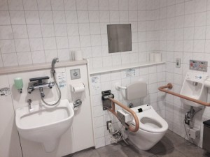 Accessible bathroom in Tottori Airport (Konan Airport)