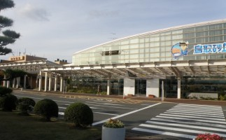Outlook of Tottori Airport (Konan Airport)
